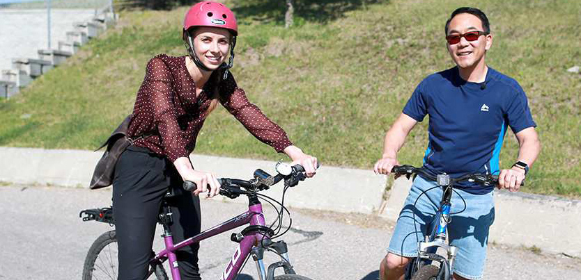 Biking with Herald Reporter Annalise Klingbeil: What I really think about bike paths