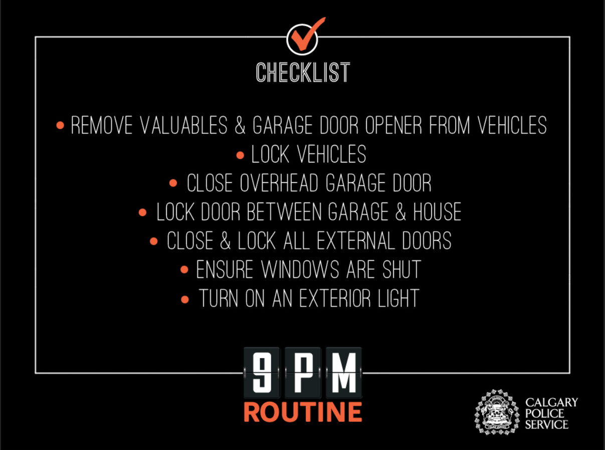 9 p.m. Routine – CPS