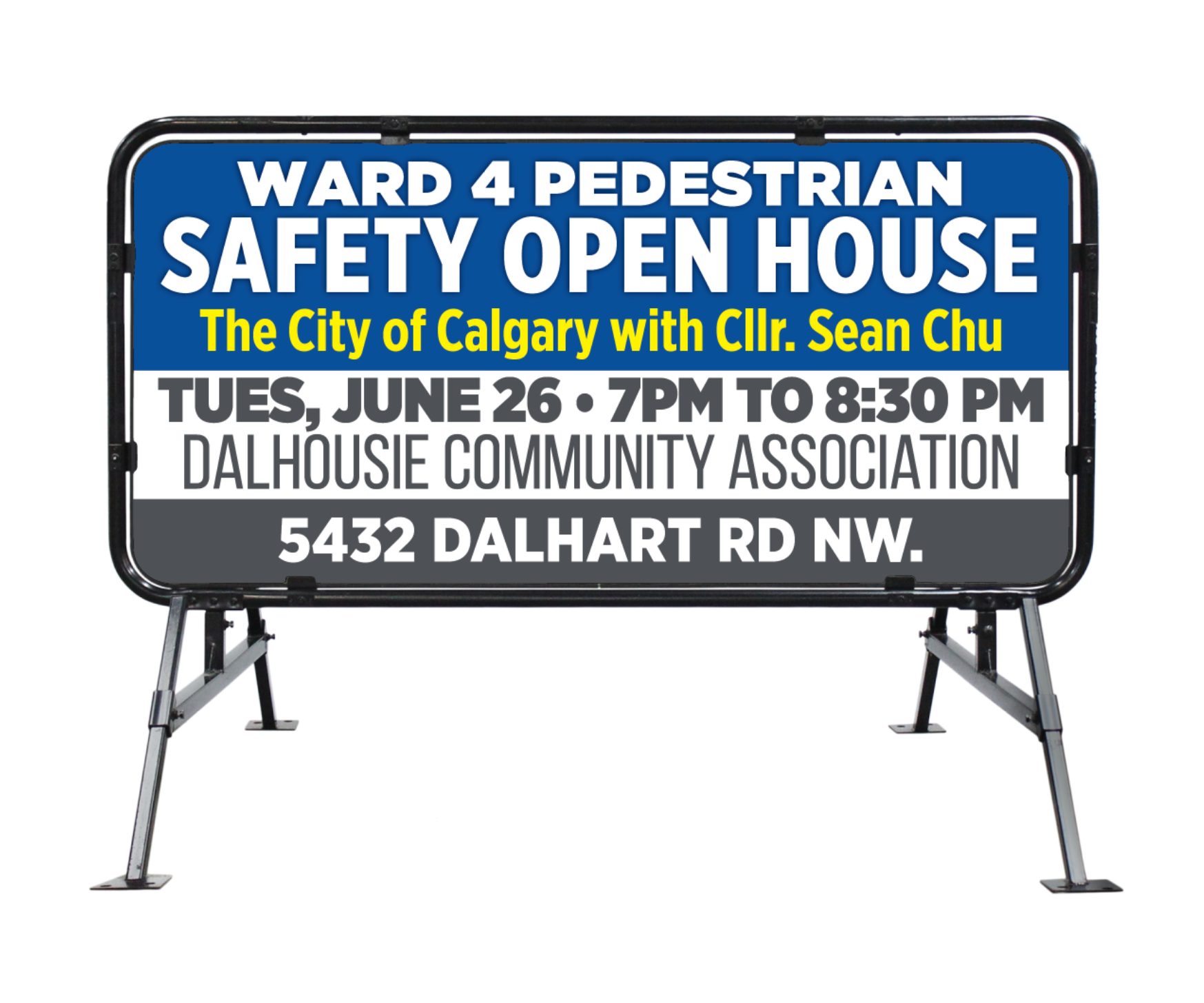 Canada Day BBQ & Pedestrian Safety Open House!